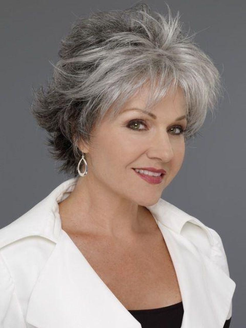 43 Simple Hairstyles Ideas For Women Over 60 Over 60 Hairstyles Hair Styles For Women Over 50 Thick Hair Styles