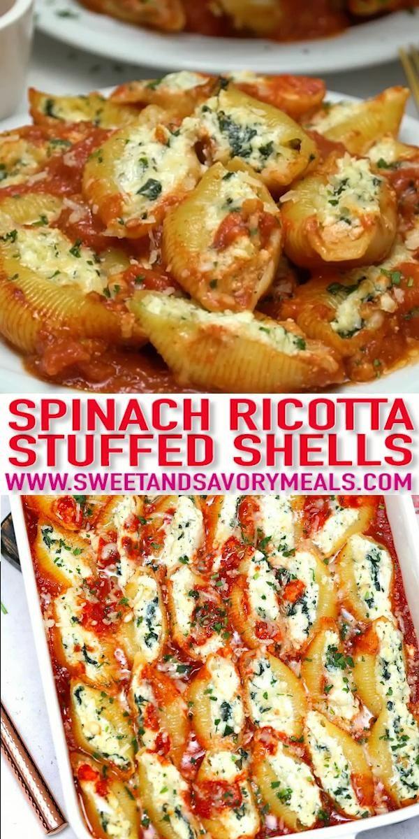 Photo of Spinach Ricotta Stuffed Shells