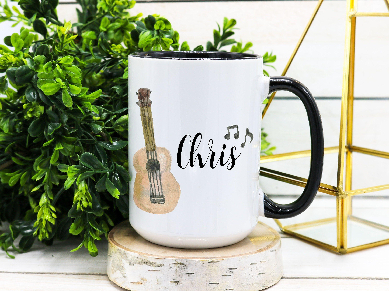 Acoustic Guitar Mug Guitar Gift Guitar Player Gift Guitarist Etsy Guitar Gifts Music Teacher Gifts Guitar Player Gifts