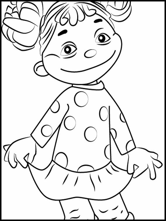 Sid the Science Kid 5 Printable coloring pages for kids