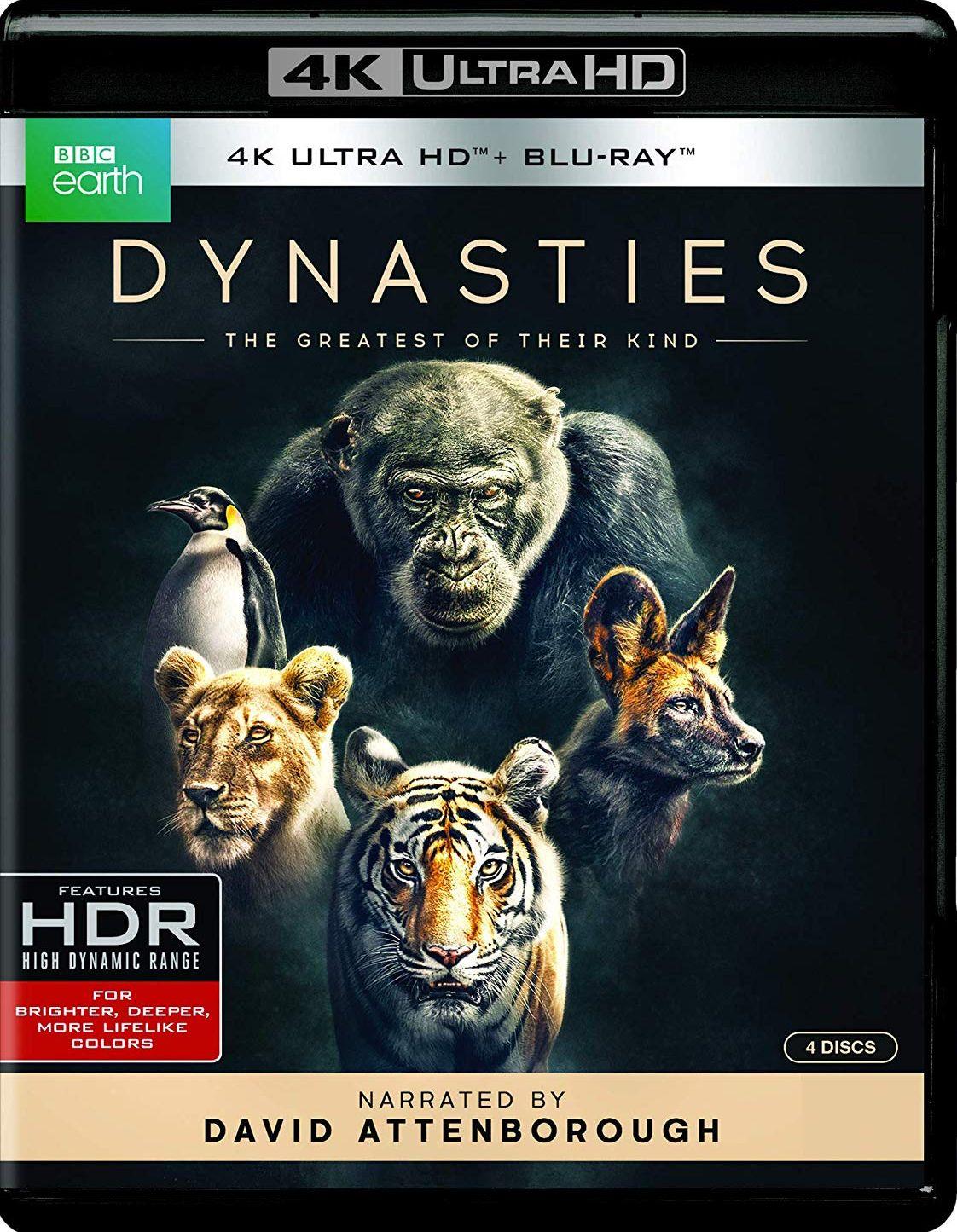 Dynasties 4k Blu Ray Bbc Blu Blu Ray Blu Ray Movies