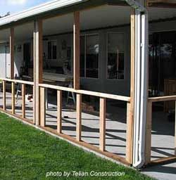 Building A Screened In Porch Can Be An Easy And Fun Project