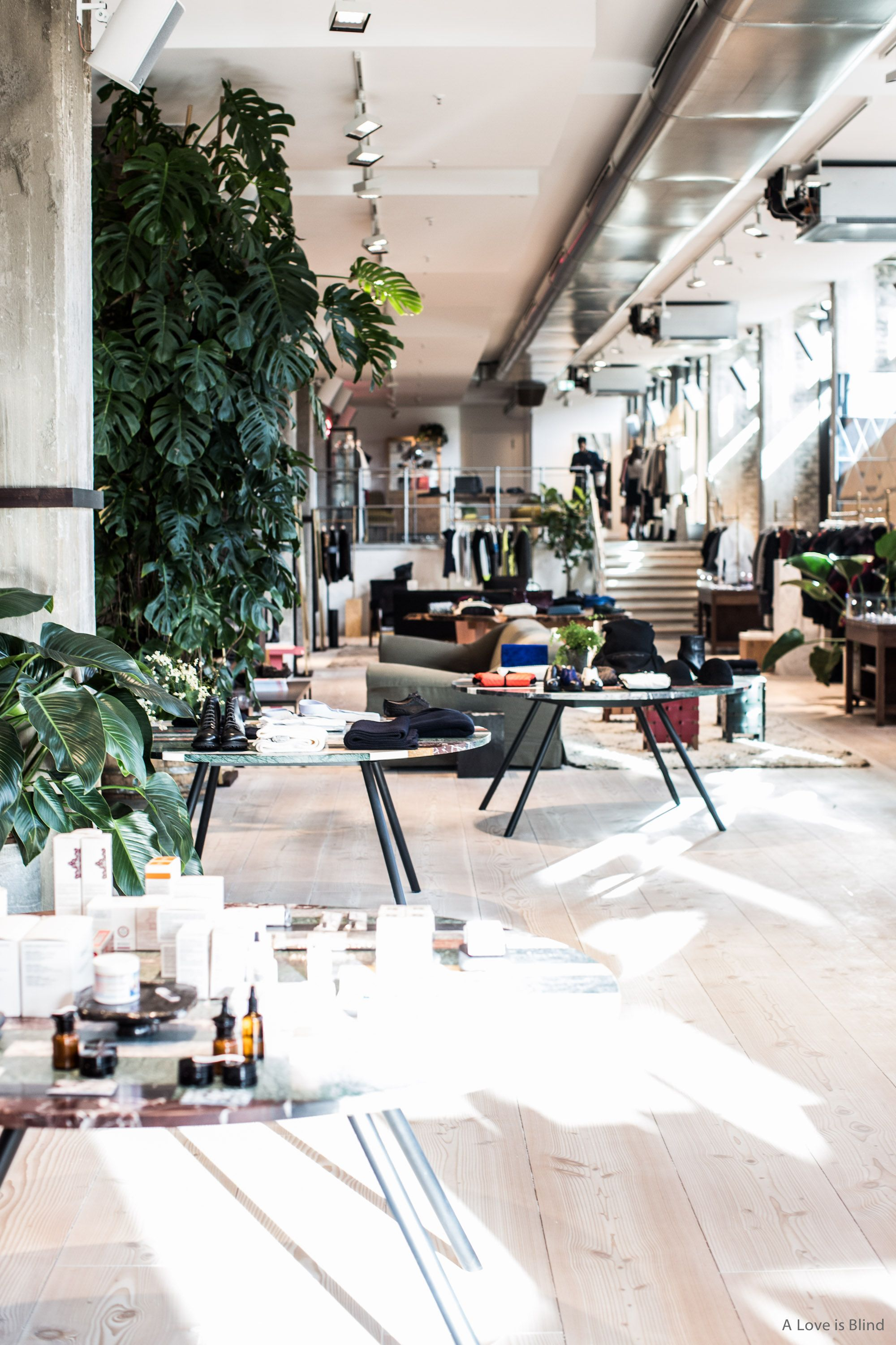 Soho House in Berlin has a giant shop, juice bar, cafe, restaurant ...