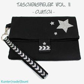 Clutch by Kunter[nadel]bunt, Taschenspieler-II-CD, farbenmix.de, #farbenmix #sewing #diy #crafting #bags #design #handmade #sewalong