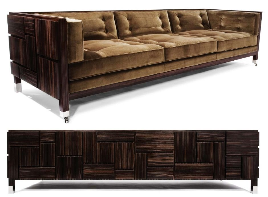 Hudson Furniture, from New York, by Designer and Company Founder Barlas Baylar.  Cool Lounge.