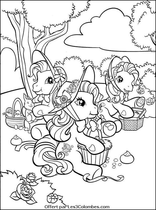 Mon Petit Poney My little pony   new color pages   Pinterest ...