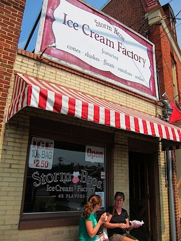 Storm Brothers Ice Cream Factory In Annapolis Md Annapolis Downtown Annapolis Ice Cream Factory