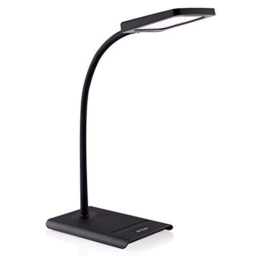 Trond Halo 10w Dimmable Led Desk Lamp Premium Diffusion Film 3 Lighting Modes 7level Dimmer Touchcontrolled