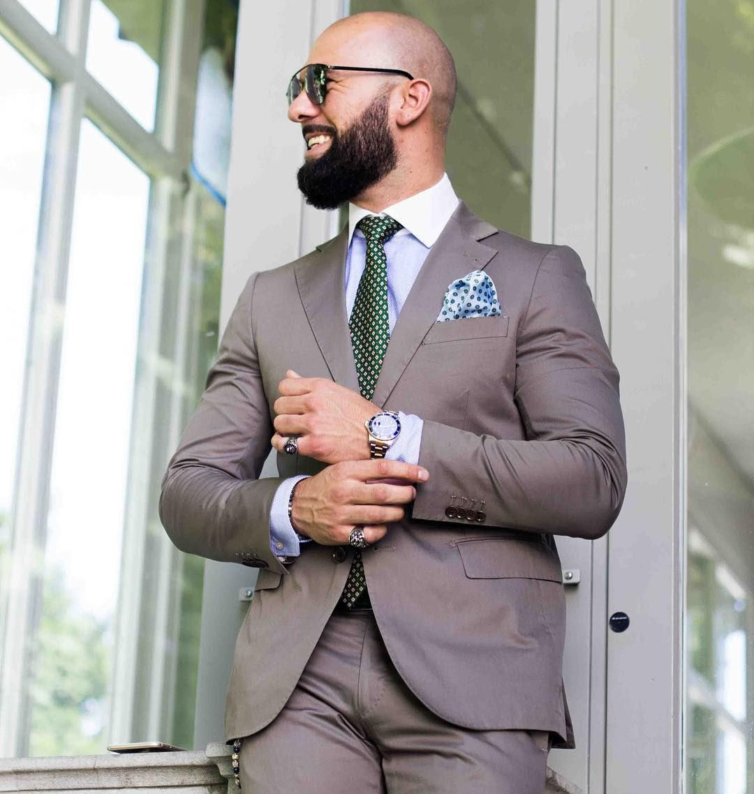 awesome 30 Spectacular Slim Fit Suits Styles - The Fabulous Gem of Men's Fashion Check more at http://stylemann.com/best-slim-fit-suits-styles/