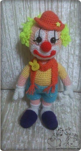Amigurumi Orkide Tarifi : Amigurumi Palyaco Dolls: Amigurumi (Crochet) Pinterest ...
