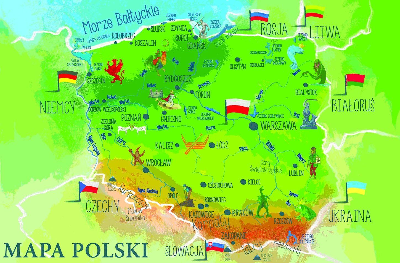 Polska Moja Ojczyzna In 2020 Online Puzzles Kids Education Education