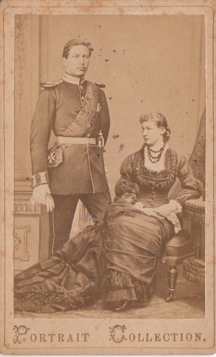 Cdv Kaiser Wilhelm Ii Konig V Preussen M Braut Auguste Viktoria P V Holstein 1881 In Sammeln Seltenes Ansichtskarten Motive Kaiser Wilhelm Wilhelm Ii Kaiser
