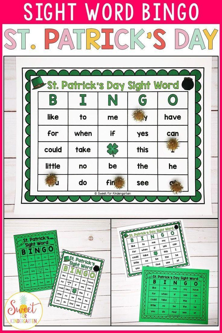 EDITABLE St Patrick's Day Sight Word Bingo, #bingo #Day #Editable #Patricks #Sight #StPatricksDayactivities #StPatricksDayclover #StPatricksDaycrafts #StPatricksDaydecorations #StPatricksDayfood #StPatricksDayoutfit #StPatricksDayparty #StPatricksDayprintables #StPatricksDayquotes #StPatricksDaywallpaper #word