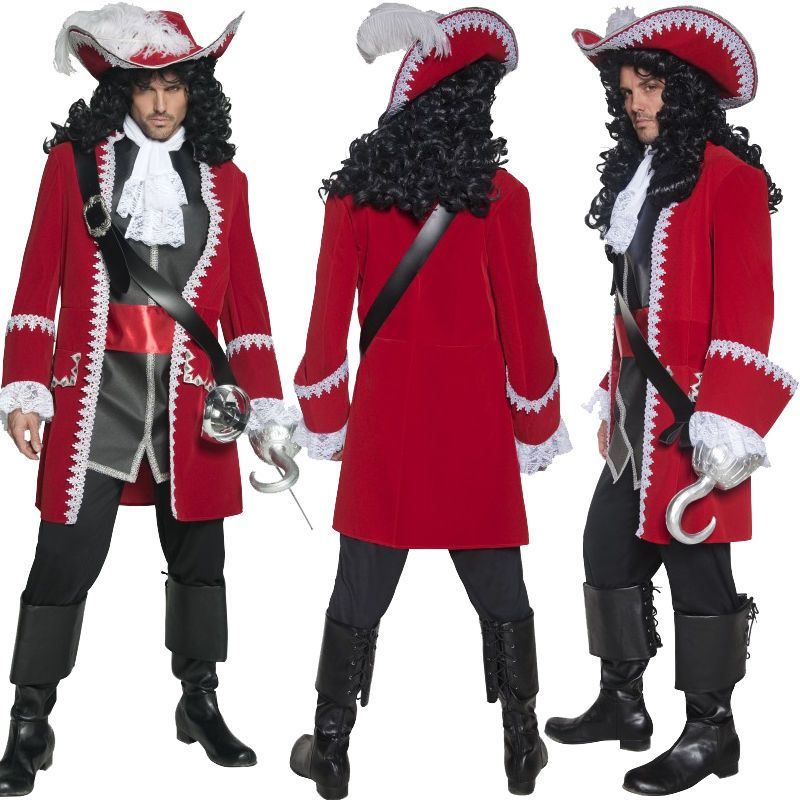Disney Captain Hook Mens Costume
