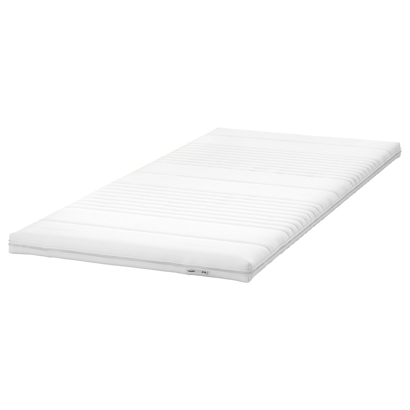 Tussoy Mattress Topper White Twin Ikea In 2020 Mattress Mattress Topper Foam Mattress