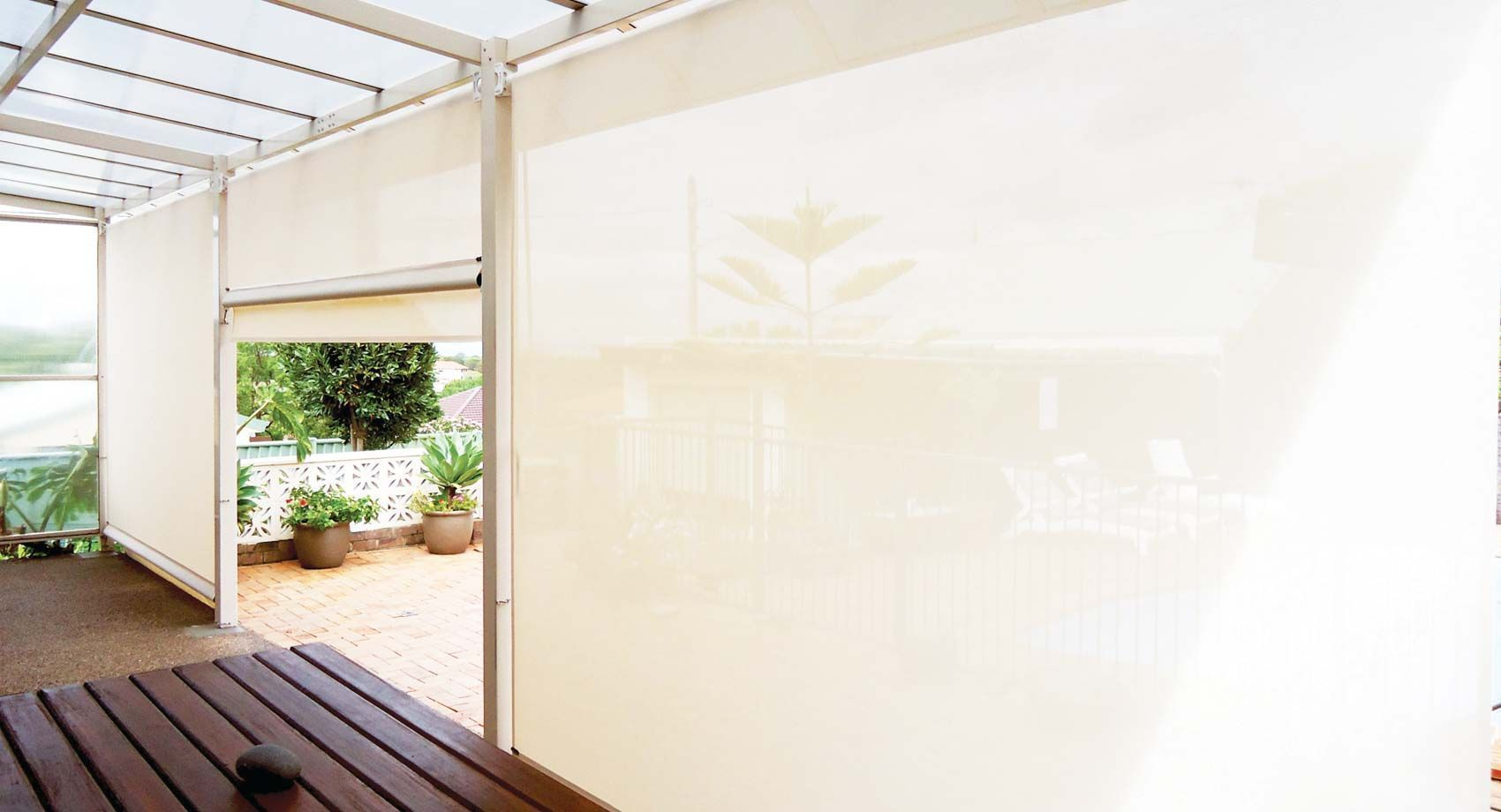 Our Outdoor Blinds Are The Ultimate In Protection And Privacy