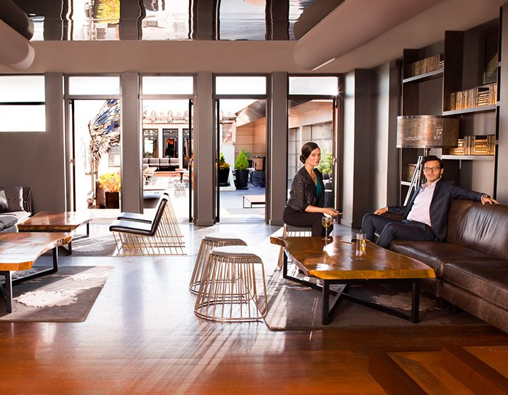 Kimpton Hotel Vintage Portland A Boutique Downtown With Distinct Design Nightly Social Hour Lounge Lobby Bar Much More