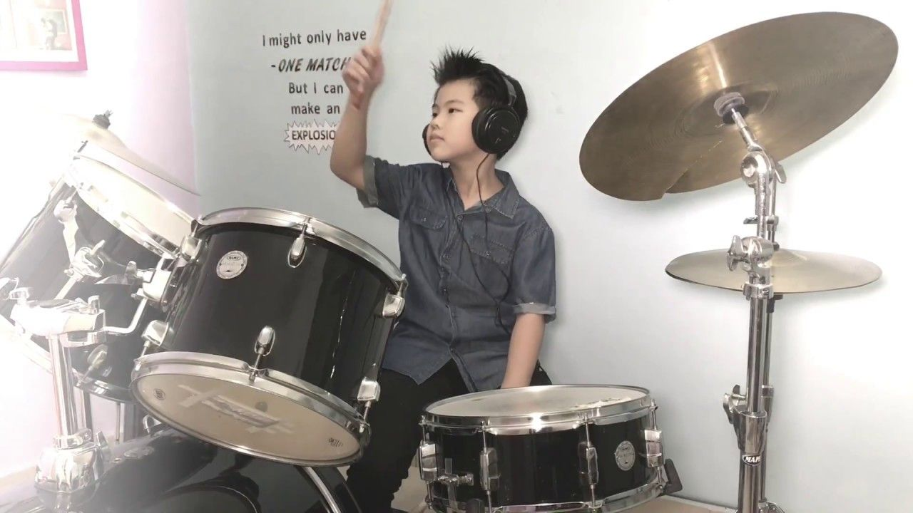 Fight Song Drum Cover Drummer Ethan Youtube Drum Cover Fight Song Drums