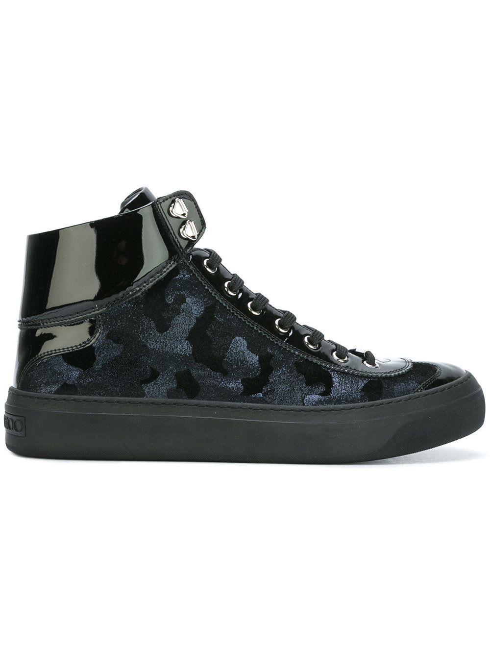 6b286e4d558e Jimmy Choo  Argyle  hi-top sneakers