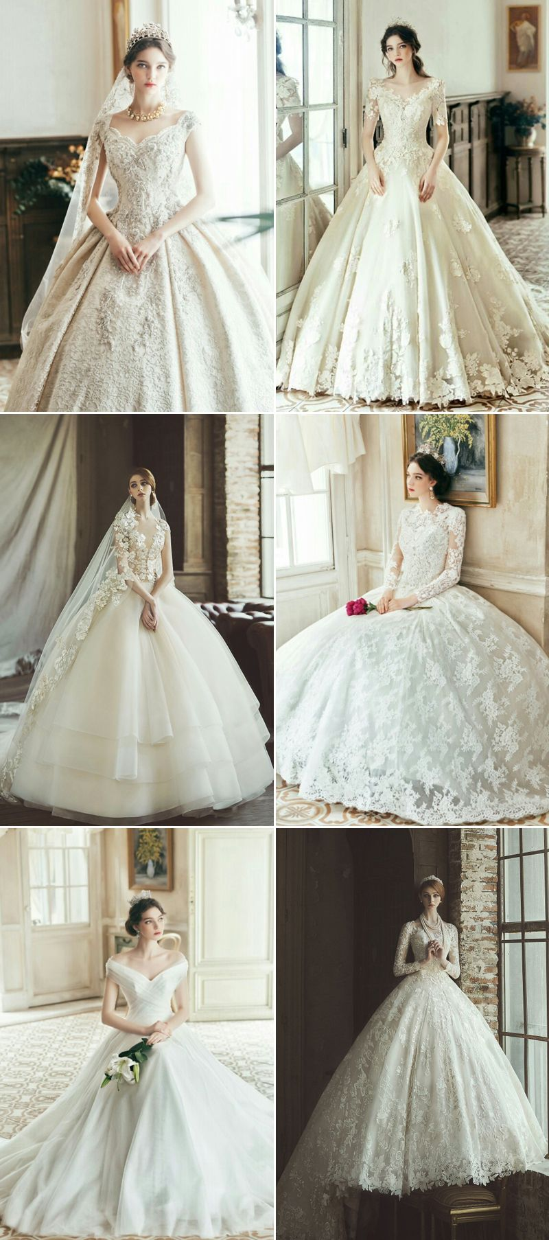 37 Jaw-Droppingly Beautiful Gowns for a Ballroom Wedding | Wedding ...