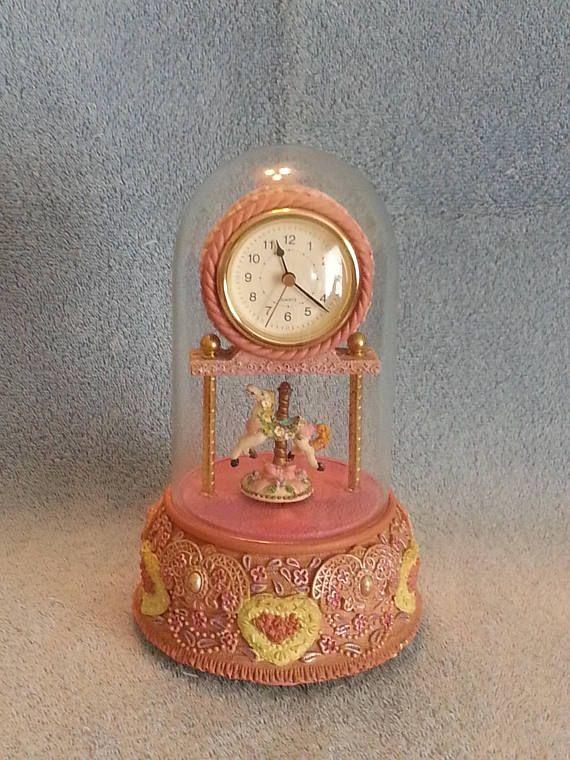 Seiko carousel mantel clock