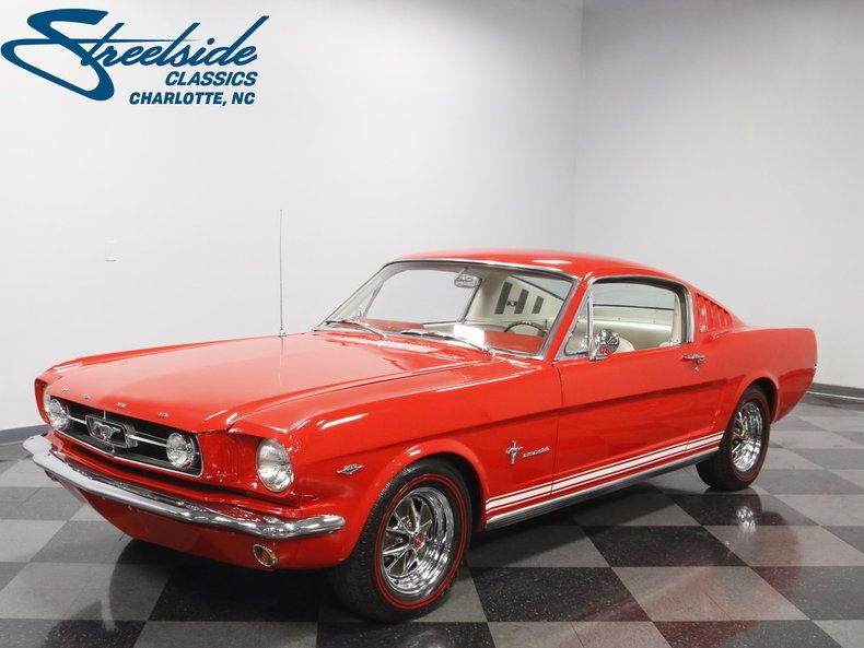Ebay 1965 Ford Mustang Fastback A Code 289 V8 4spd Trans Clean