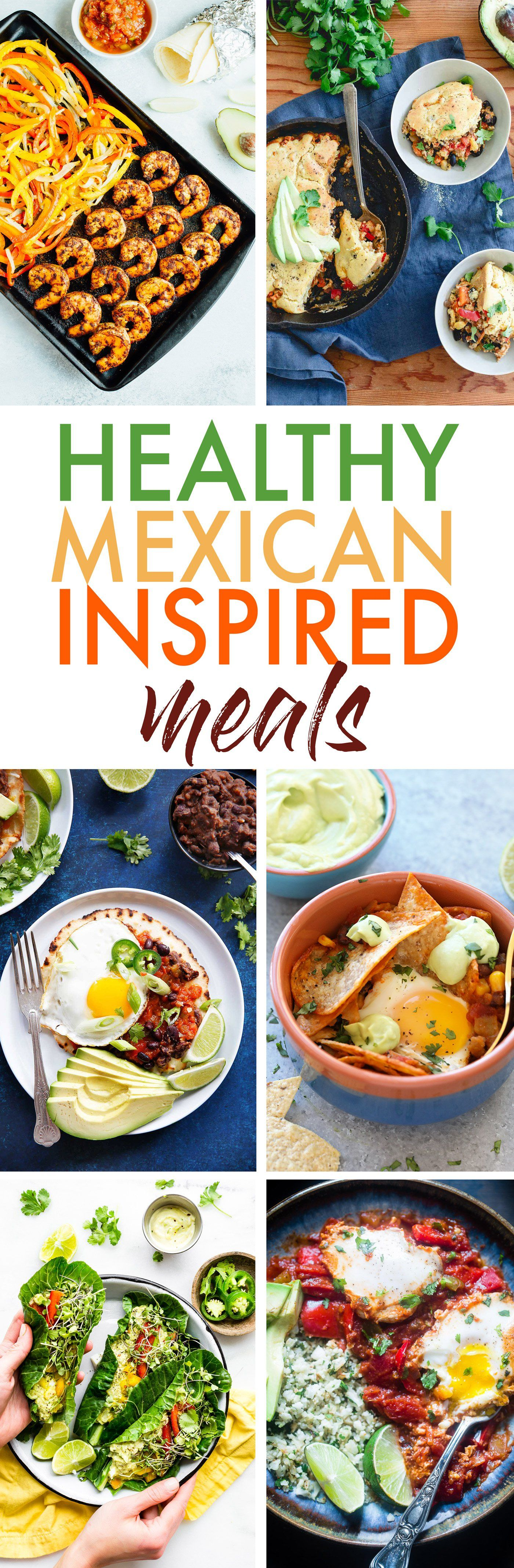 Healthy Mexican Inspired Meals! Gluten Free, Paleo Options