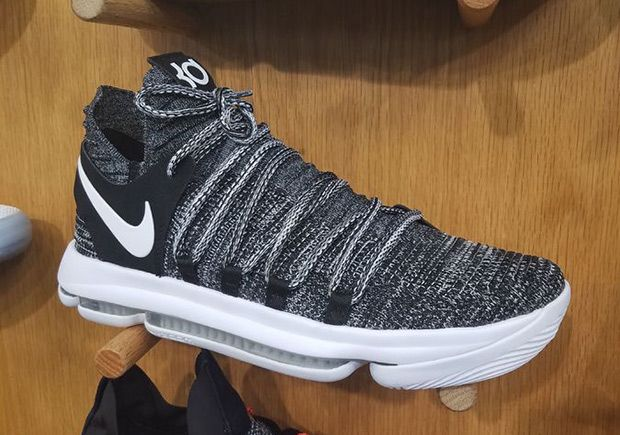 5db60f64600b The Nike KD 10 Oreo will release this Summer 2017 season featuring an all  Flyknit upper in Black White. More details here
