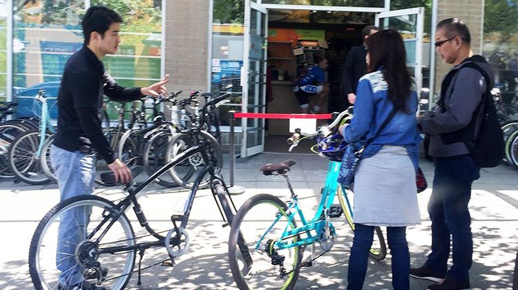 Bike Rentals Vancouver Where To Rent Bikes In Vancouver Average Joe Cyclist Bike Rental Bike Rental Shop Cyclist