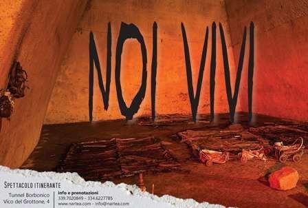 Noi Vivi Nartea ricorda le Quattro Giornate di Napoli al Tunnel Borbonico