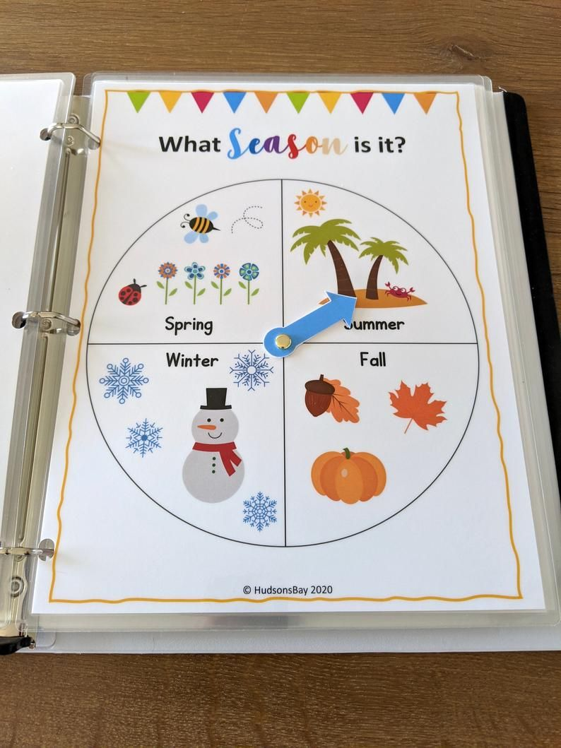 Circle Time Binder, Preschool and Kindergarten Worksheets