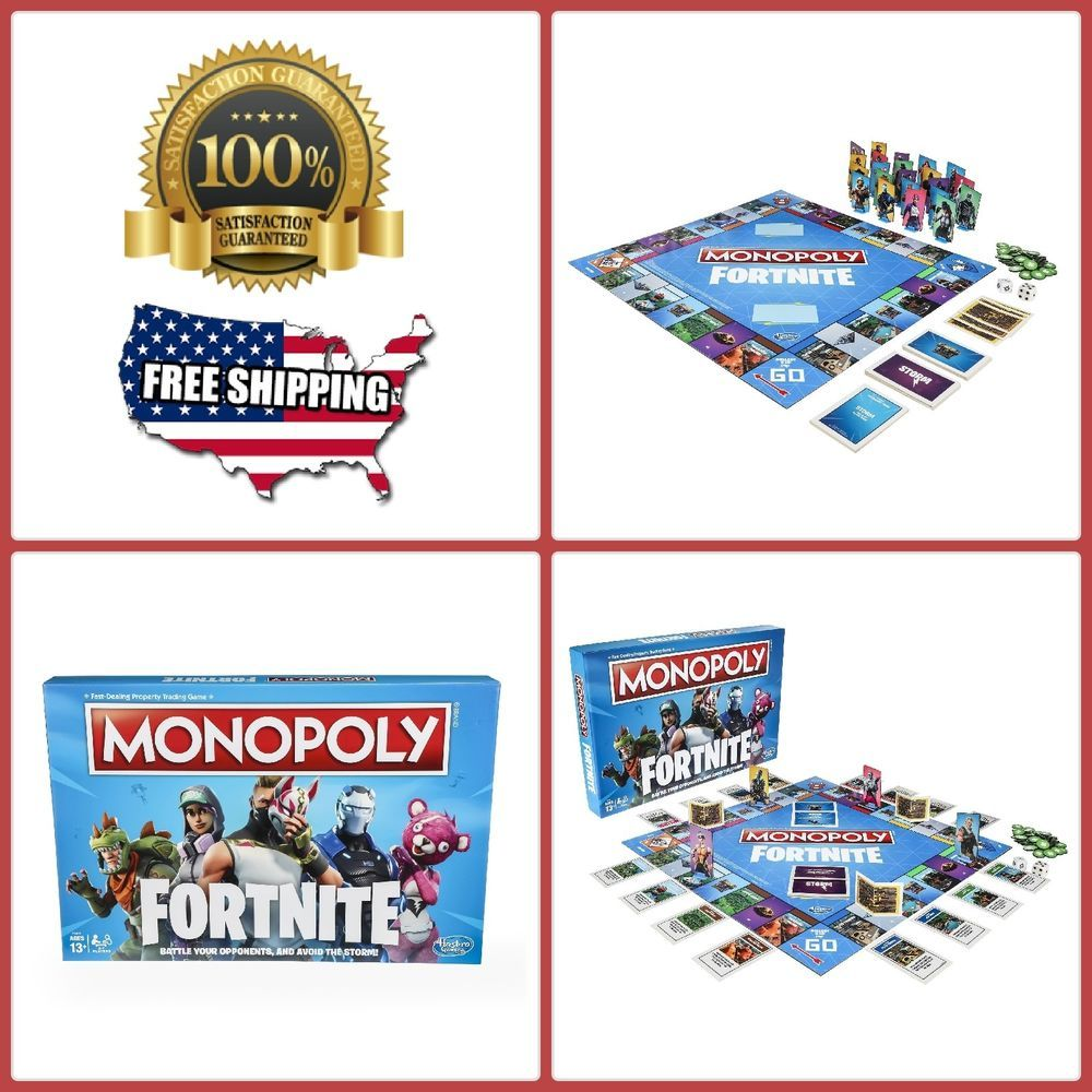 Monopoly Inspired By Fortnite Video Game Edition Board Game Kids