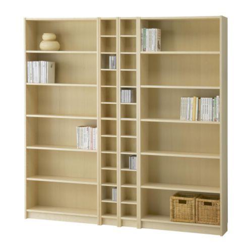 BILLY/ BENNO Bookcase combination in \'birch veneer\' $296.00 | IKEA ...