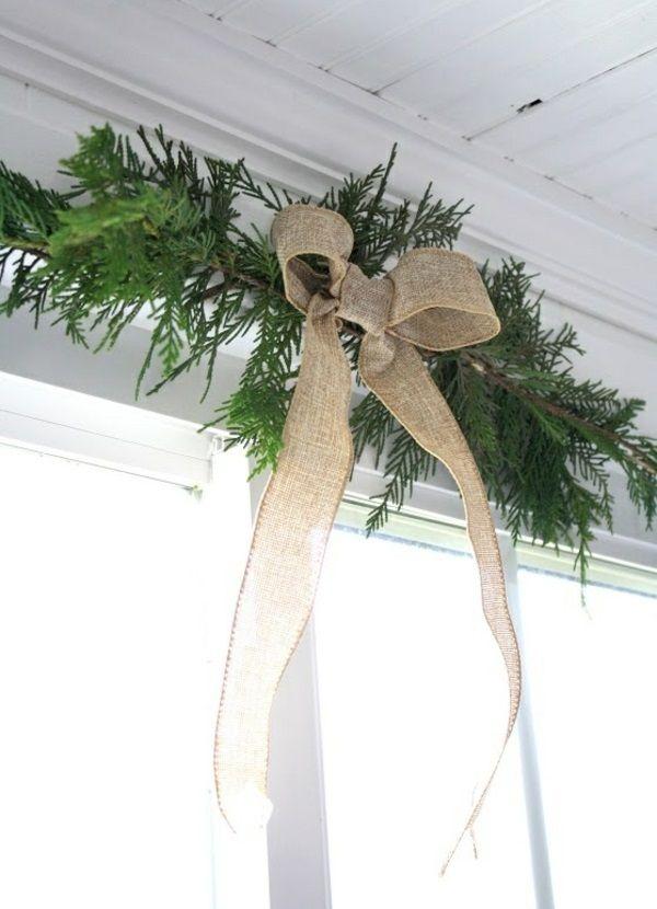 Kreative Ideen für eine festliche Fensterdeko zu Weihnachten ...