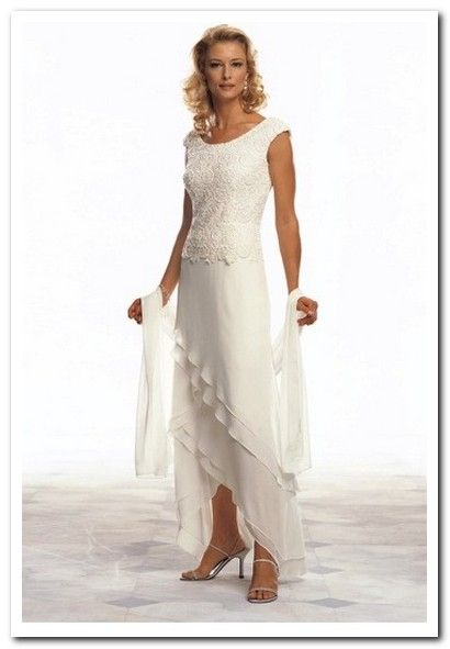 wedding dresses for older brides plus size … | a | Pinterest ...