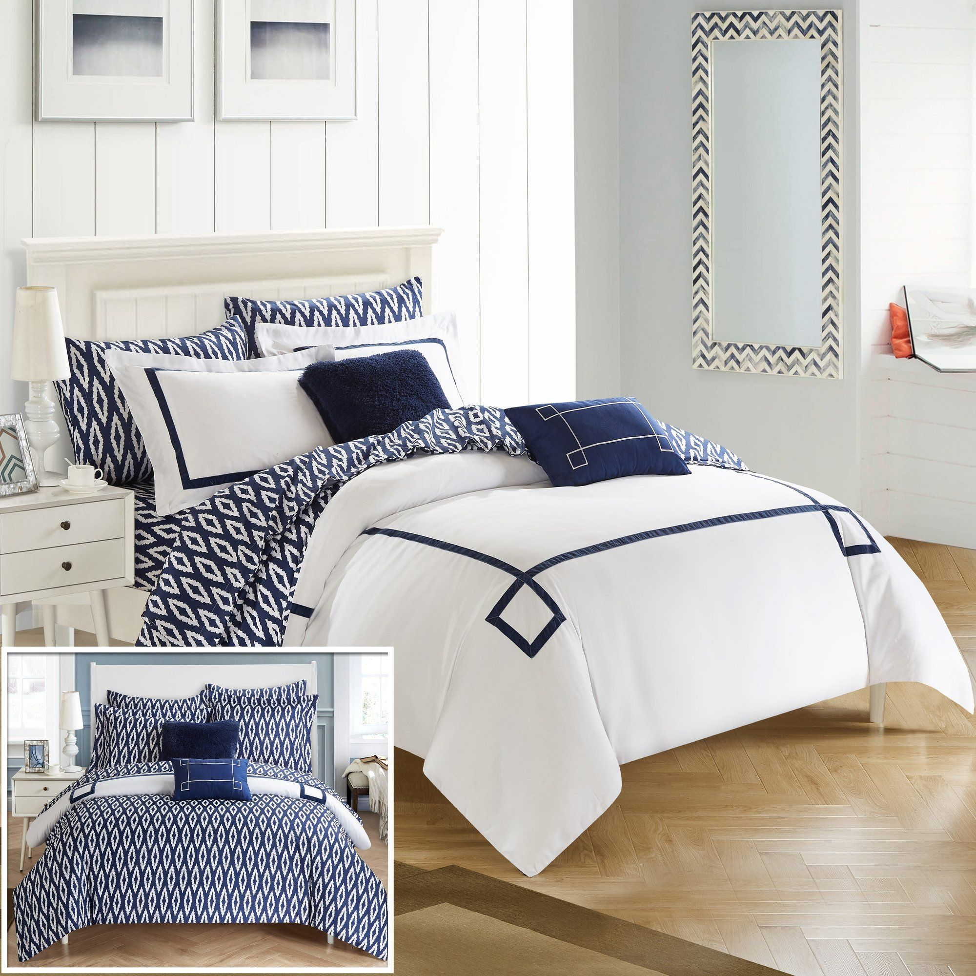 Trace Reversible Comforter Set Comforter sets