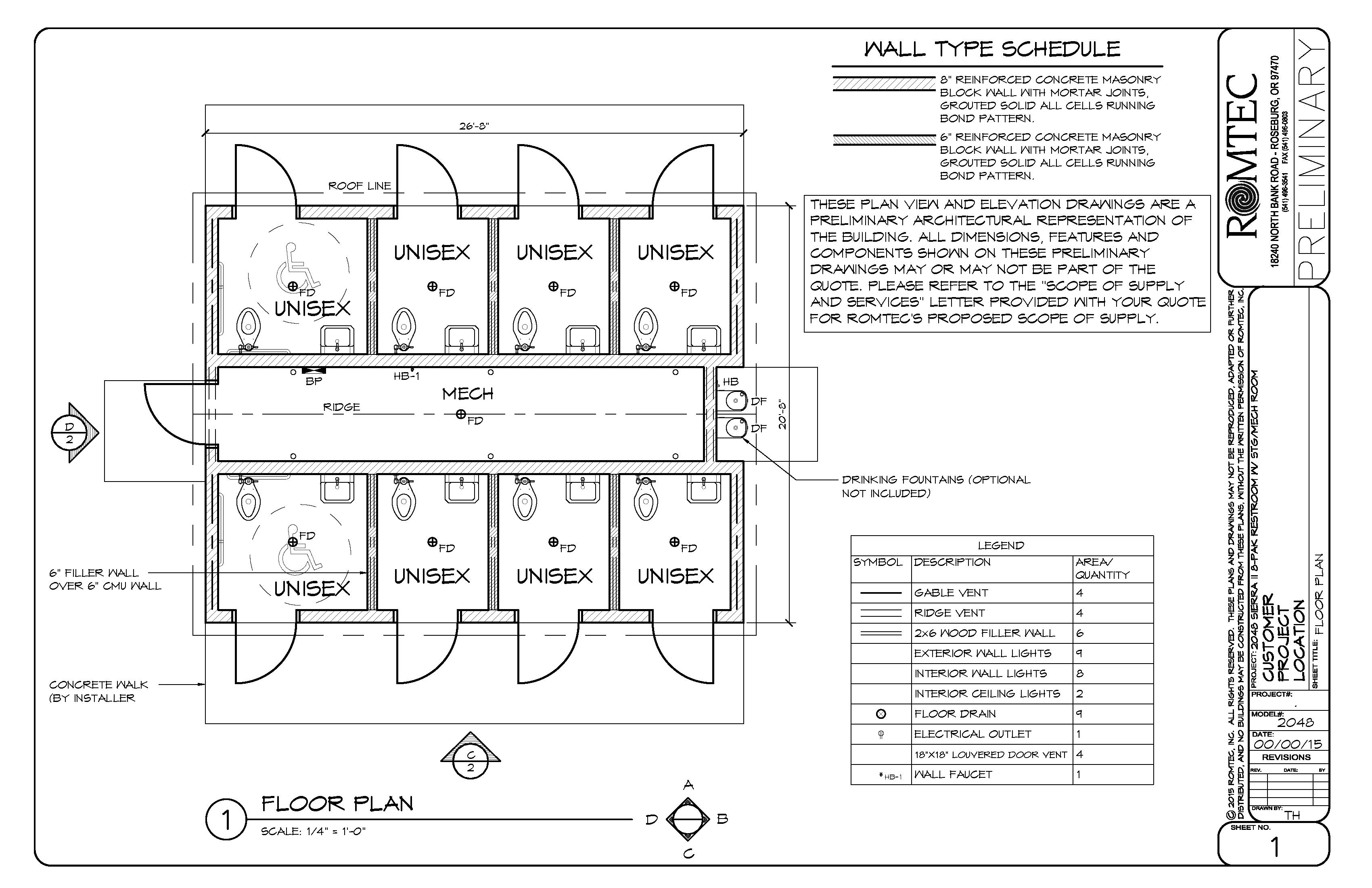 Public Toilet Design Plan Floor Plans Design For Washroom