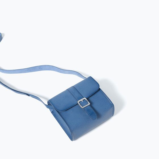 MESSENGER BAG WITH DETAIL from Zara