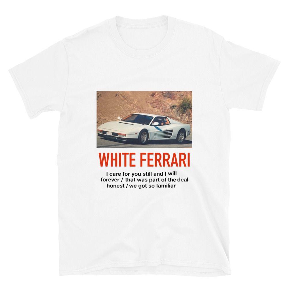 Frank Ocean White Ferrari In 2020 White Ferrari Frank Ocean