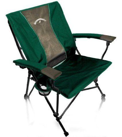 Giant Folding C& Chair  sc 1 st  Pinterest & Giant Folding Camp Chair | Better Folding Camping Chairs | Folding ...
