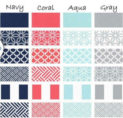 Color Scheme For Living Room Navy Couch Coral Pillows