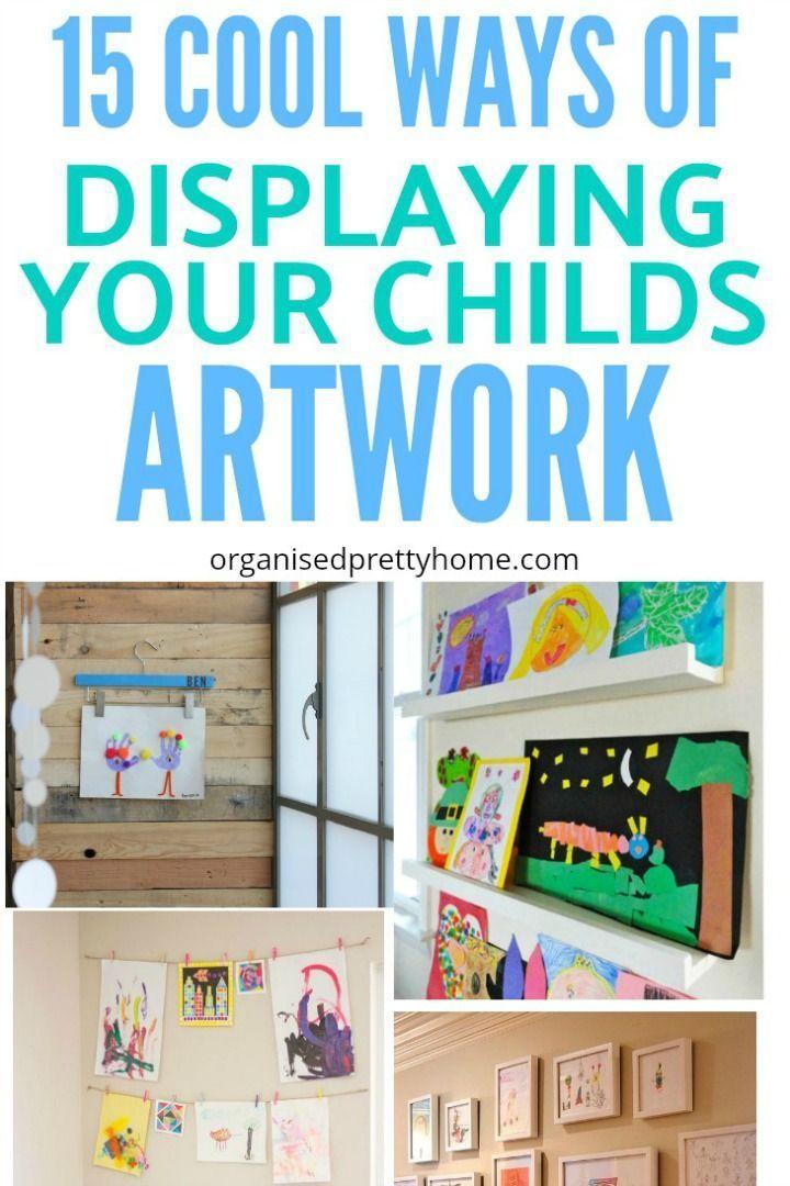 Luxury Display Kids Art Work