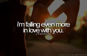 Falling Even More In Love With You Lyrics