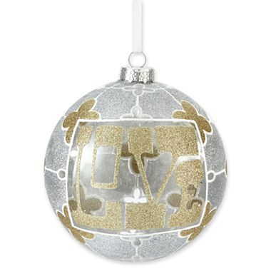 Happy Chic by Jonathan Adler Love Christmas Ornament - jcpenney ...
