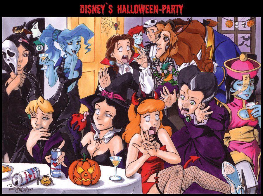 Disney Halloween Party!