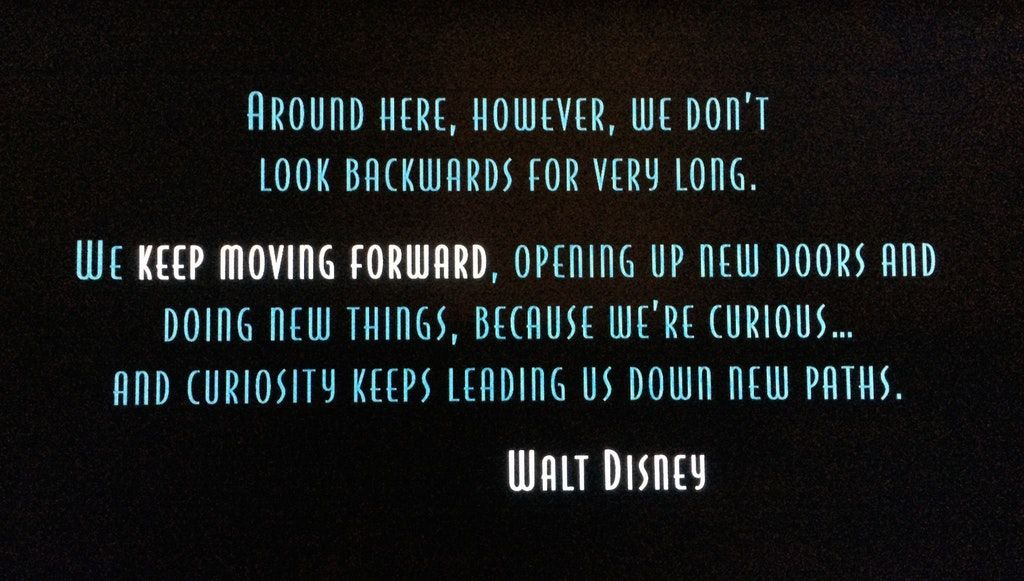 Pin By Doctor Clara On Quotes To Live By Moving Forward Quotes Keep Moving Forward Quotes Meet The Robinsons Quote
