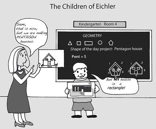 #Eichler children are head of the class!   |   eichlerhometour.com