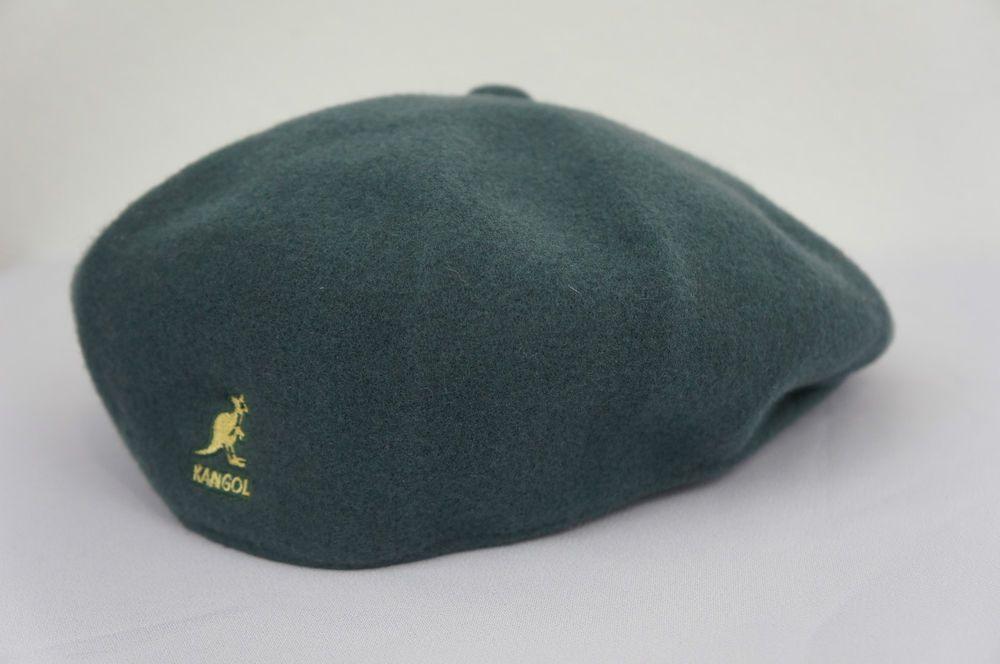 Kangol solid wool hat cap sz medium kangol cap wool