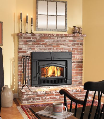 Wood burning fireplace inserts. What you need to know. - By Mazzeo's  Chimney & - Wood Burning Fireplace Inserts. What You Need To Know. - By