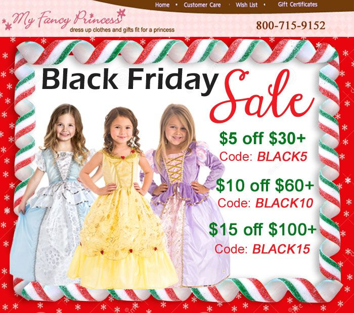 Buy more save more Black Friday Sale at My Fancy Princess #blackfriday www.myfancyprincess.com